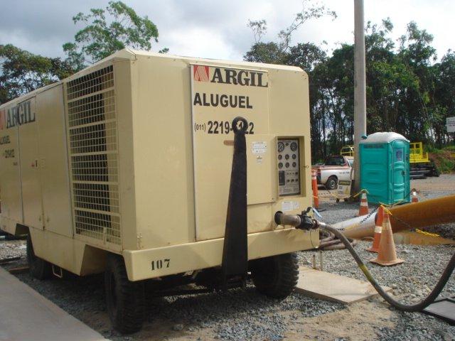 Aluguel de Compressores Argil